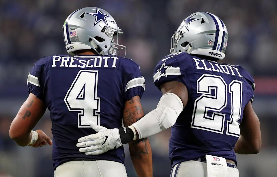 A lot of people are tuning in to watch the Dallas Cowboys and their rookie stars. (Getty Images)