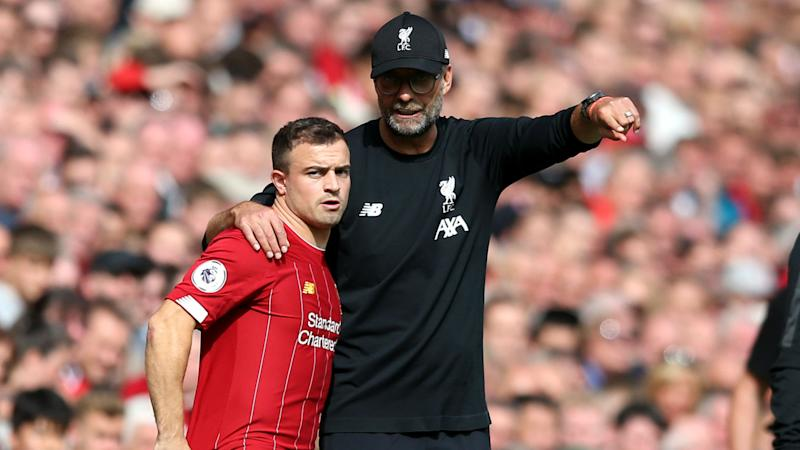 Klopp: Liverpool have 'no intention' of selling Shaqiri this month