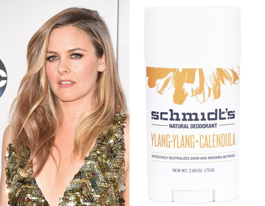 "<p>The hydrating and naturally disinfectant properties of coconut oil even make it great to use on your pits. Alicia Silverstone sure isn't clueless — she swipes on <a href=""https://schmidtsdeodorant.com/our-shop.html"" rel=""nofollow noopener"" target=""_blank"" data-ylk=""slk:Schmidt's Deodorant Stick"" class=""link rapid-noclick-resp"">Schmidt's Deodorant Stick</a>s ($8.99) for all-natural protection based on coconut oil.</p><p><i>(Photo: Getty Images/Schmidt's Deodorant)</i><br></p>"