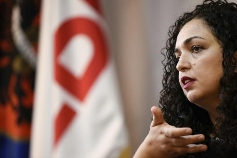 Vjosa Osmani says she can rise above Kosovo's 'nasty' politics as she targets becoming the country's first female prime minister (AFP Photo/Armend NIMANI)