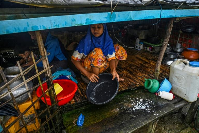Some 130,000 Muslims are languishing in various camps in central Rakhine without decent access to education, healthcare and work (AFP Photo/Ye Aung THU)