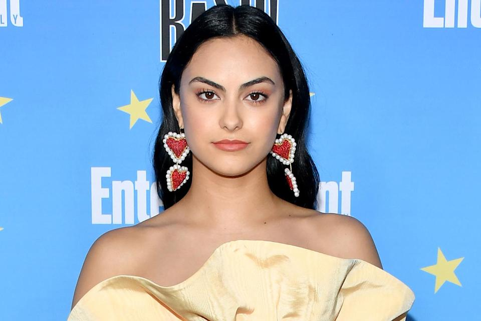 """<p>""""I've never liked this idea of 'don't give him everything.' Like you've given someone all of yourself by having sex with them. What's valuable to me is giving you my love and my intimacy,"""" Mendes said during her joint<a href=""""http://www.cosmopolitan.com/entertainment/a14462373/camila-mendes-lili-reinhart/"""" rel=""""nofollow noopener"""" target=""""_blank"""" data-ylk=""""slk:Cosmopolitan"""" class=""""link rapid-noclick-resp""""> <i>Cosmopolitan</i></a> interview with <i>Riverdal</i>e costar Lili Reinhart.</p> <p>""""I want to tell [guys], 'Don't have sex at me — have sex with me.' I want them to understand that it's so much better when we're connected.""""</p>"""
