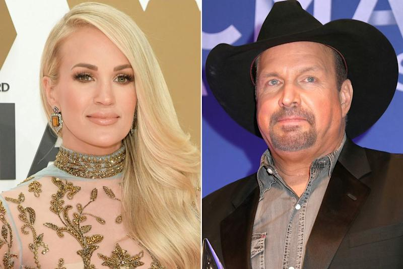 Carrie Underwood and Garth Brooks | Jason Kempin/Getty; Leah Puttkammer/Getty