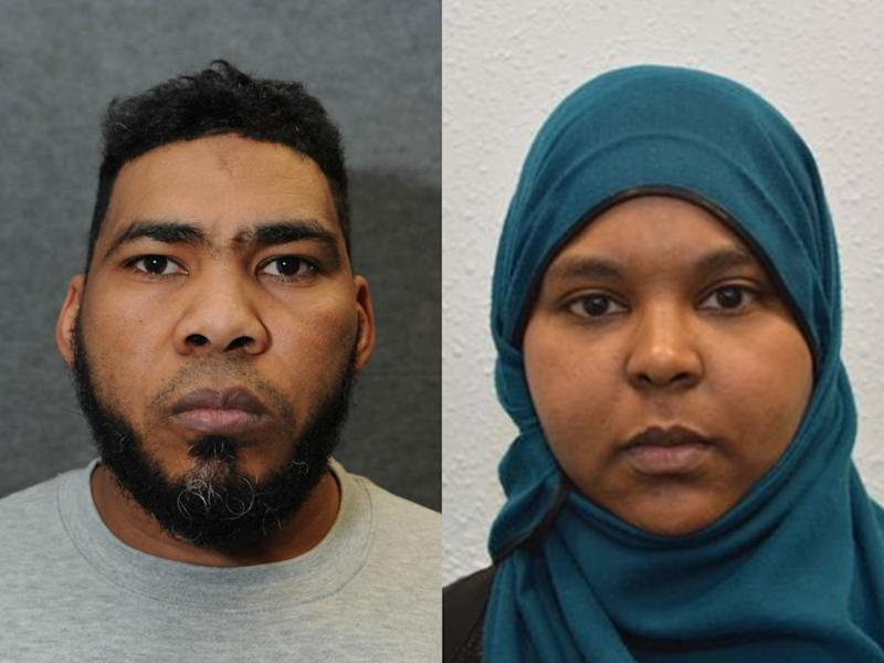 Munir Mohammed from Derby and Rowaida El-Hassan from London were found guilty of planning an Isis-inspired terror attack: North East Counter Terrorism Unit