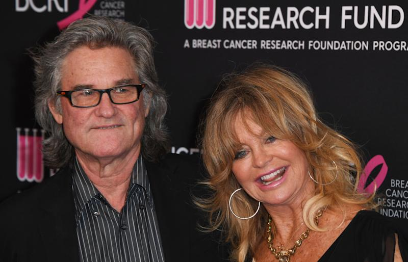 Kurt Russell and Goldie Hawn (pictured in 2019) are sharing their relationship secrets. (Photo: MARK RALSTON/AFP via Getty Images)