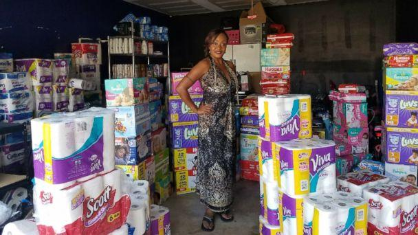 PHOTO: Kimberly Gager of San Antonio, Texas, is donating her couponed goods to hurricane survivors (Kimberly Gager)