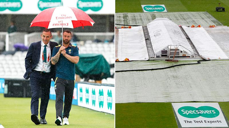 The second Ashes Test at Lord's is expected to be dominated by rain.