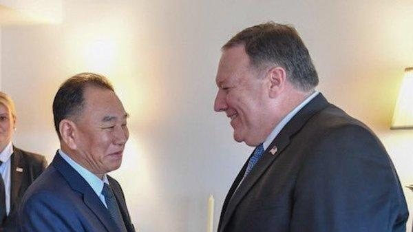 Secretary of State Mike Pompeo continued to pressure North Korea's top nuclear