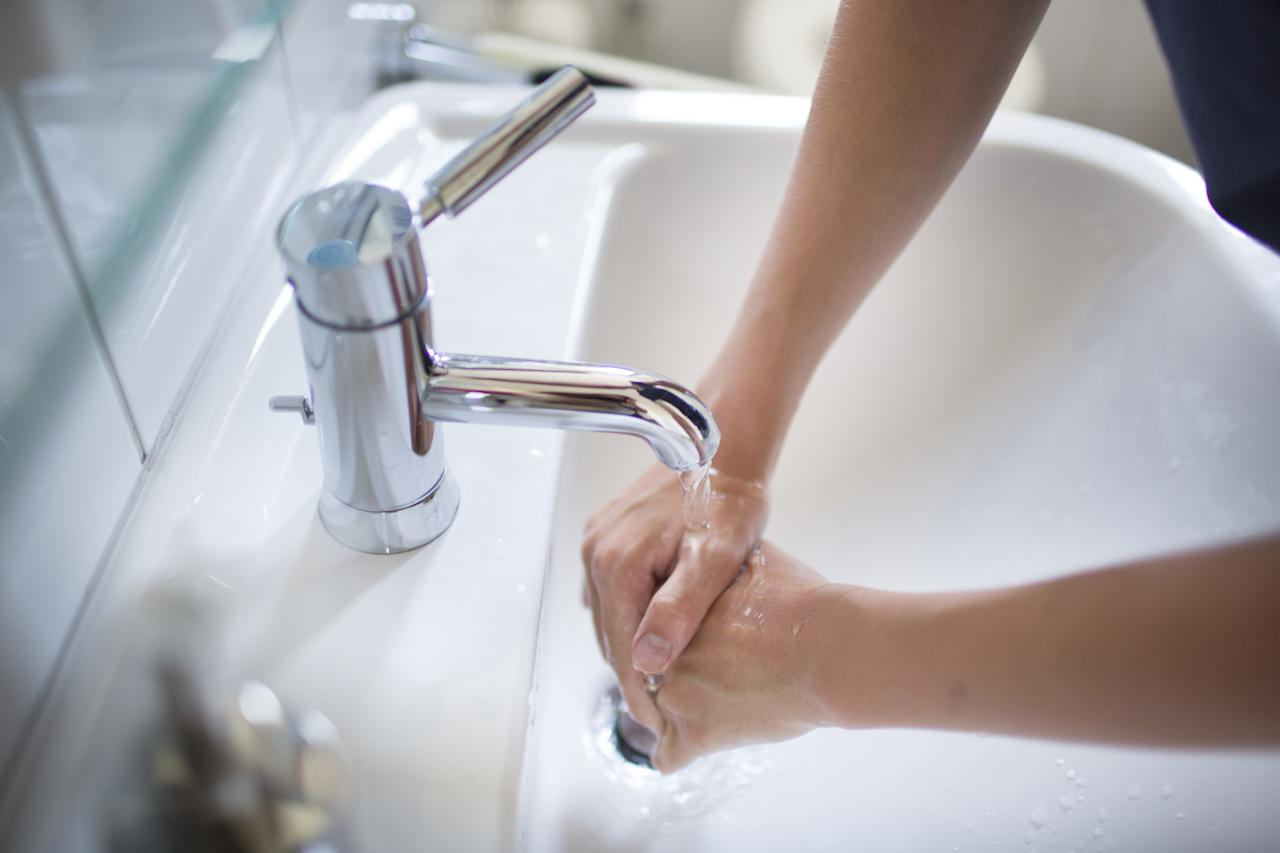 """<p>Sung at a leisurely pace, the song lasts for the amount of time you need to thoroughly wash up. """"The most important thing to do to avoid catching a cold is washing your hands frequently for at least 20 seconds with soap and water,"""" says Margarita Rohr, M.D., clinical instructor of internal medicine at the N.Y.U. Langone Joan H. Tisch Center for Women's Health. """"It washes off germs, decreasing the likelihood of being <a rel=""""nofollow"""" href=""""http://www.glamour.com/gallery/12-simple-hacks-to-fight-off-a-cold?mbid=synd_yahoobeauty"""">infected by touching your hands to your mouth or nose</a>."""" (Might we suggest singing it in your head when you're in your office bathroom.)</p>"""