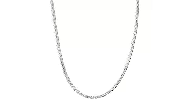 """Sterling Silver Curb Chain 24"""""""