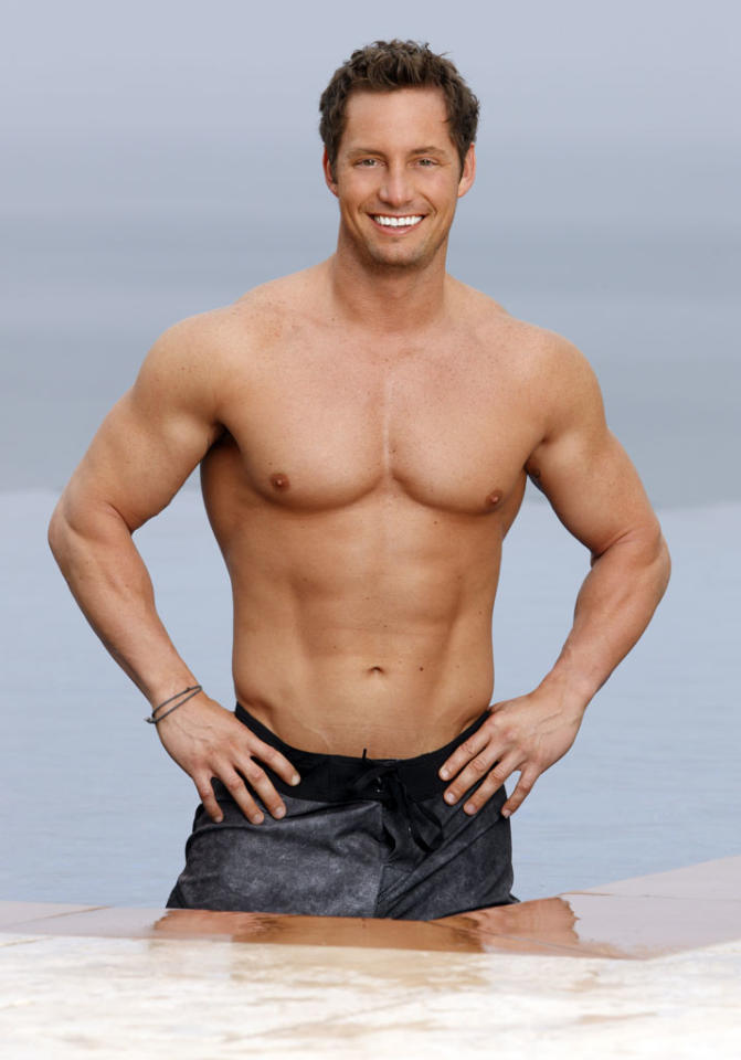 "<b>NICK PETERSON (""The Bachelorette"" Season 7, Ashley Herbert)</b><br><br><b>Occupation:</b> Trainer<br><b>Age:</b> 27<br><b>Residence:</b> Tampa, FL"