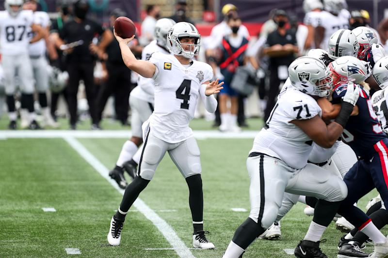 Raiders blown out by Patriots in Week 3, 36-20
