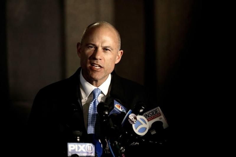 Attorney Michael Avenatti at Federal Court in New York, USA - 25 Mar 2019