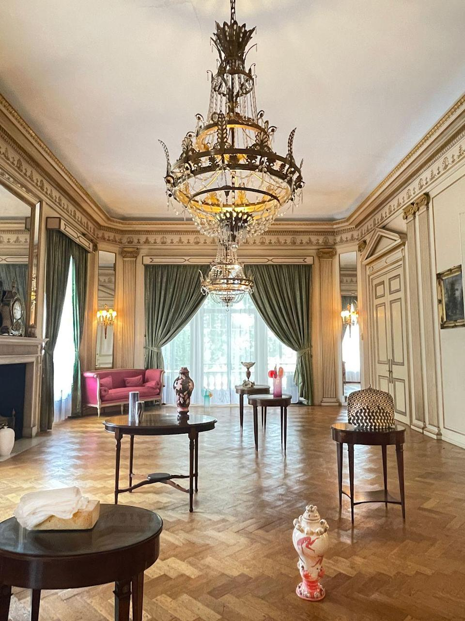 """<p>The Argentine Ambassador's Residence in Belgravia will provide an illustrious backdrop for this collaborative exhibition, which is staged by five of the capital's top galleries. Over 200 works, including site-specific installations by Denise de Cordova and Charlotte Hodes, will jostle with its grand chandeliers and tapestries. There's also an opportunity to meet one of the artists each afternoon. 49 Belgrave Square, 4-10 October, <a href=""""https://www.craftingadifference.com"""" rel=""""nofollow noopener"""" target=""""_blank"""" data-ylk=""""slk:craftingadifference.com"""" class=""""link rapid-noclick-resp"""">craftingadifference.com</a></p>"""