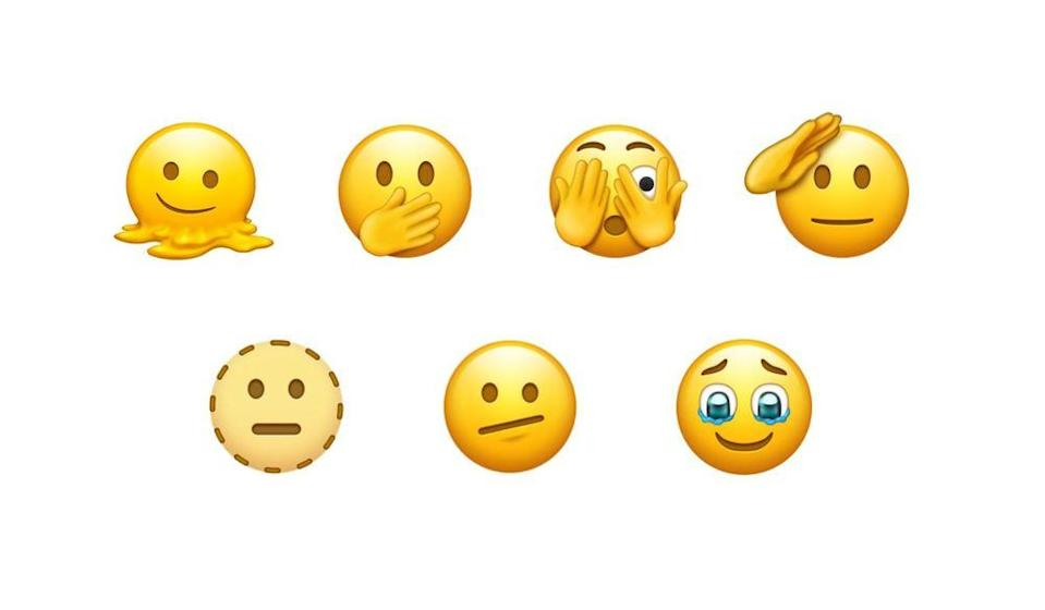 Some of the draft emoji proposed for approval in 2021