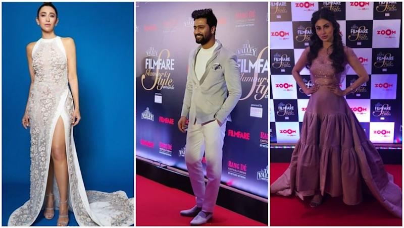 Filmfare Glamour and Style Awards 2019: Vicky Kaushal, Karisma Kapoor and Mouni Roy Grace The Red Carpet!