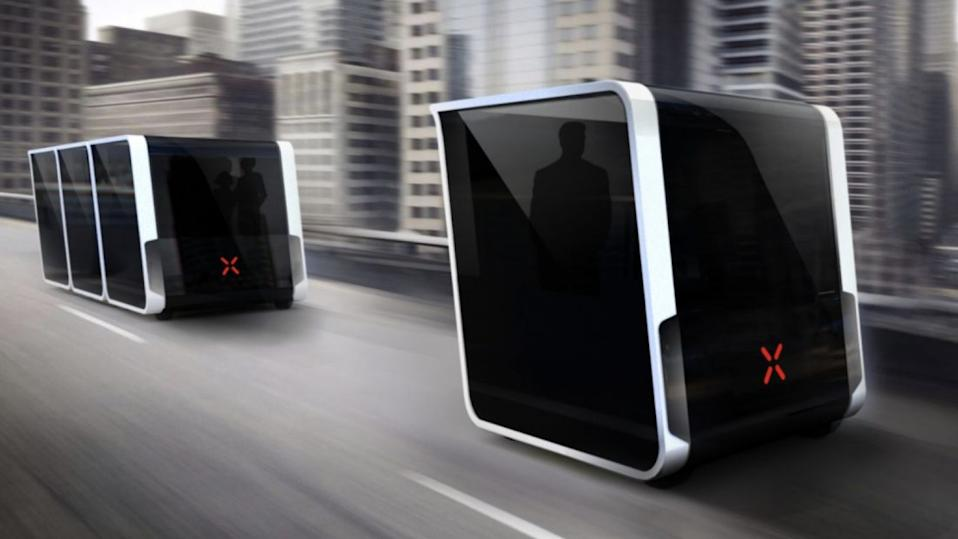 Next pods is an advanced smart transportation system that's designed to reduce pollution, commute time, traffic fatalities, trip costs and road congestion.