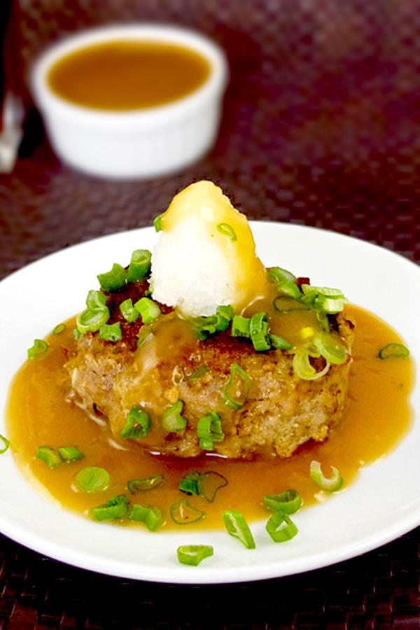 """<p>This isn't your typical school cafeteria Salisbury steak! This is an easy Japanese Salisbury steak recipe your kids will love! Enjoy it with a side of corn and mashed potatoes. This recipe takes only 25 minutes from start to finish! <i>[Image: Pickled Plum]</i></p><p>Get the recipe from: <b><a rel=""""nofollow"""" href=""""http://www.pickledplum.com/japanese-salisbury-steaks-hamburg-%E3%83%8F%E3%83%B3%E3%83%90-%E3%82%B0/"""">Pickled Plum</a></b></p>"""