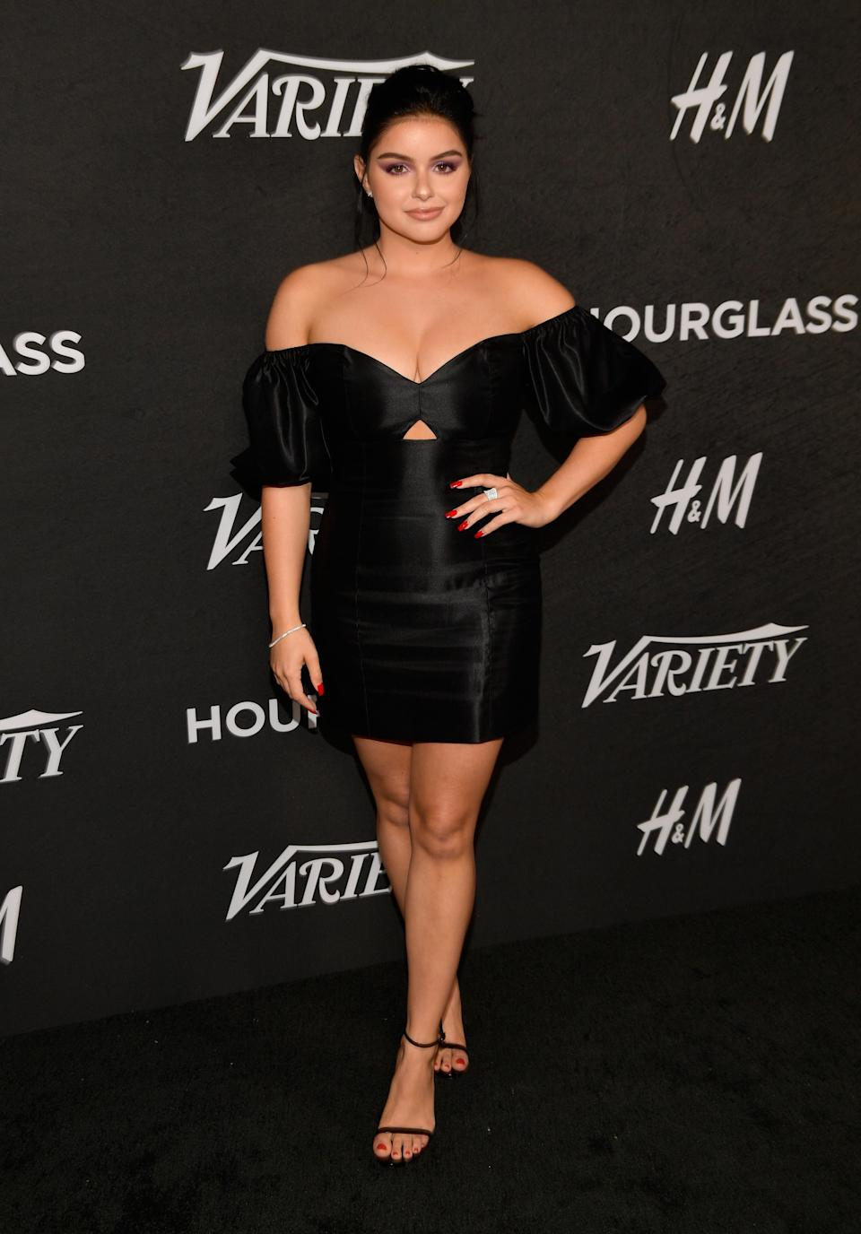 <p>The 'Modern Family' actress worked a LBD for the event. <em>[Photo: Getty]</em> </p>