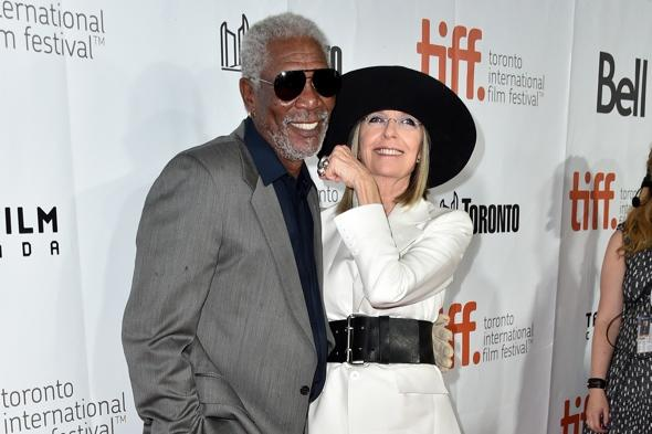 Morgan Freeman lands plane four times en route to Toronto Film Festival