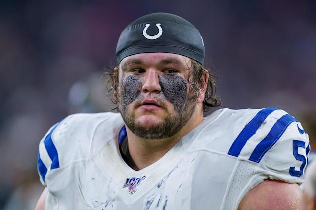 You don't want to mess with Indianapolis Colts offensive guard Quenton Nelson. (Photo by Daniel Dunn/Icon Sportswire via Getty Images)