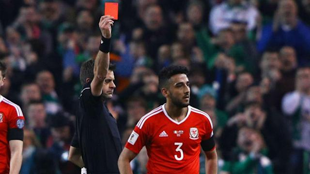 The Wales defender could see his one-match suspension increased after FIFA took action relating to his challenge on the Ireland man