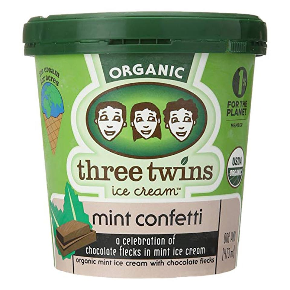 "<p>""I did <em>a lot</em> of ice cream research during my pregnancy and this is hands down the best mint chocolate chip out there. The chocolate flakes melt in your mouth and the mint flavor is so refreshing."" - Stacy Hersher, director, Social and Partnerships</p>"