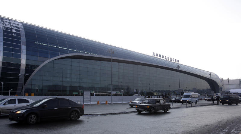 General view of Domodedovo airport near Moscow on Wednesday, Jan. 26, 2011. Security was tightened after a suicide bomber set off an explosion that ripped through Moscow's busiest airport on Monday. (AP Photo/Sergey Ponomarev)