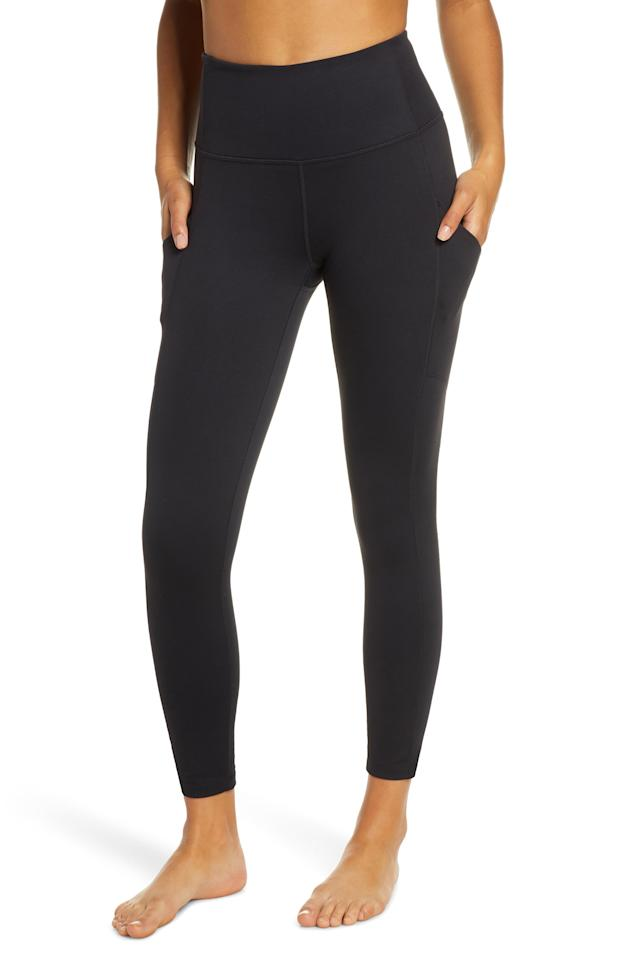 """<p><strong>ZELLA</strong></p><p>nordstrom.com</p><p><strong>$38.90</strong></p><p><a href=""""https://go.redirectingat.com?id=74968X1596630&url=https%3A%2F%2Fshop.nordstrom.com%2Fs%2Fzella-live-in-high-waist-pocket-7-8-leggings%2F5242541&sref=http%3A%2F%2Fwww.womenshealthmag.com%2Ffitness%2Fg28447259%2Fnordstrom-anniversary-sale-activewear-deals-2019%2F"""" target=""""_blank"""">Shop Now</a></p><p>Because you know your go-to pair has seen better days, these high-waisted black leggings are destined to be your next favorite workout essential. They are made from moisture-wicking material and already have thousands of adoring fans.</p>"""
