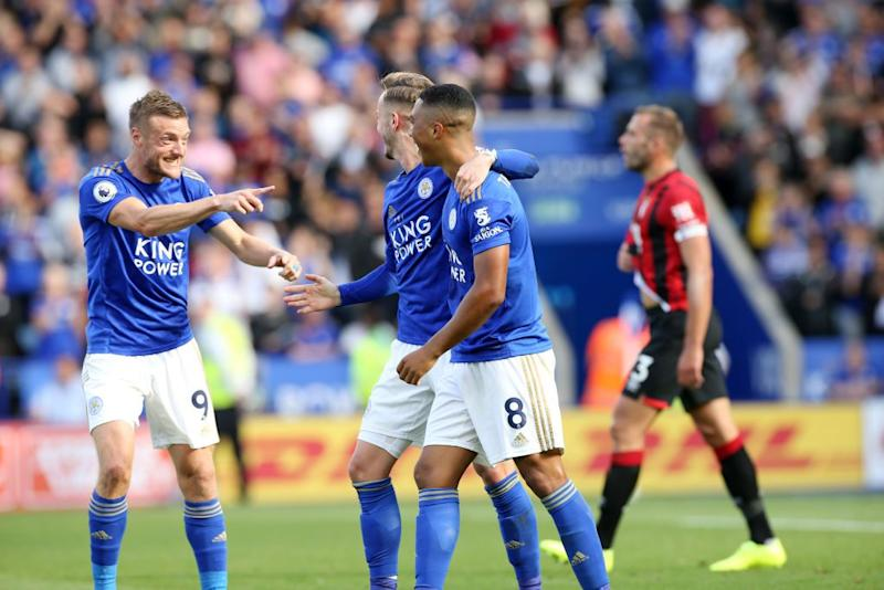 Bournemouth beats Leicester 4-1 in boost for EPL survival