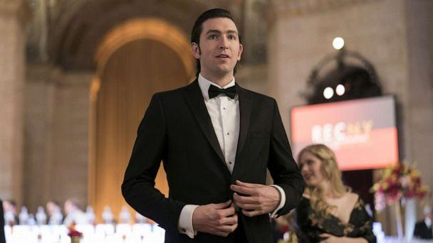 PHOTO: Nicholas Braun appears on the HBO series, 'Succession.' (Peter Kramer/HBO)