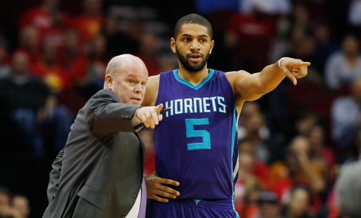 Coach Steve Clifford and Batum have the Hornets pointed in a positive direction. (Getty Images)