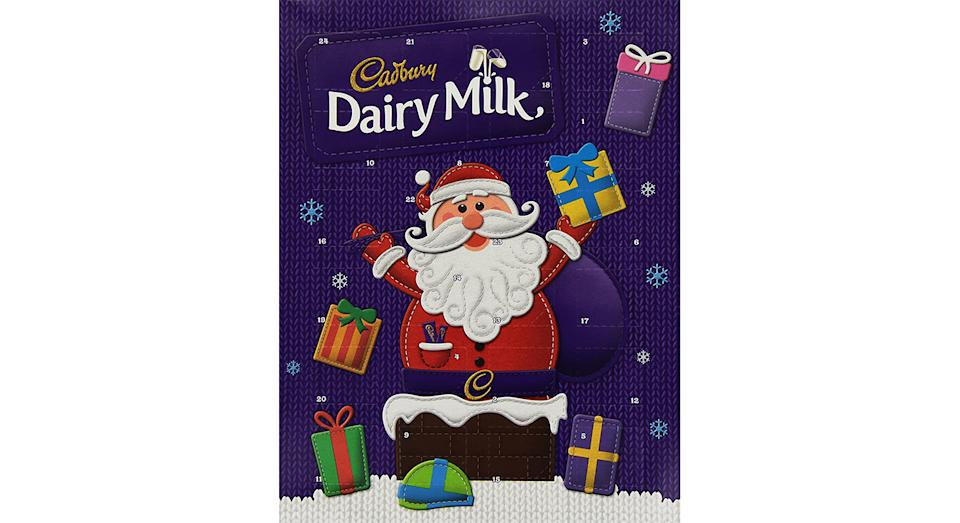 Cadbury Dairy Milk Chocolate Advent Calendar (Pack of 6)
