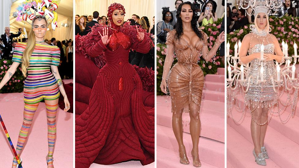 Stars stepped out in some show-stopping looks at this year's Met Gala under the theme 'Camp: Notes on Fashion' Photo: Getty Images
