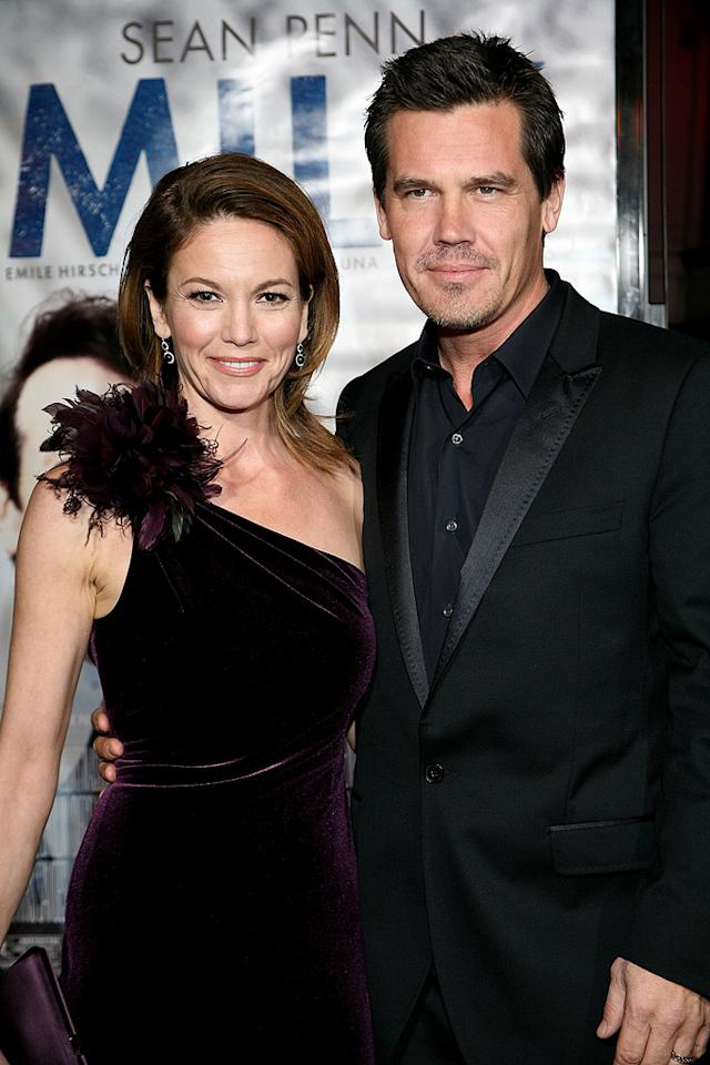 "<a href=""http://movies.yahoo.com/movie/contributor/1800020036"">Diane Lane</a> and <a href=""http://movies.yahoo.com/movie/contributor/1800019611"">Josh Brolin</a> at the San Francisco premiere of <a href=""http://movies.yahoo.com/movie/1810041985/info"">Milk</a> - 10/28/2008"