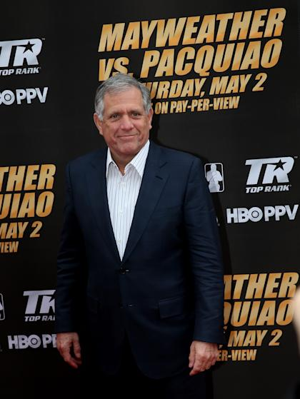 CBS President and CEO Les Moonves. (Photo by Stephen Dunn/Getty Images)