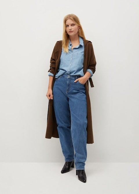 """<br><br><strong>Mango</strong> Relaxed Ely Jeans, $, available at <a href=""""https://go.skimresources.com/?id=30283X879131&url=https%3A%2F%2Fshop.mango.com%2Fus%2Fplus-size%2Fjeans-relaxed%2Frelaxed-ely-jeans_87000515.html"""" rel=""""nofollow noopener"""" target=""""_blank"""" data-ylk=""""slk:Mango"""" class=""""link rapid-noclick-resp"""">Mango</a>"""
