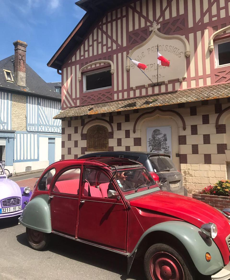 The 2CV is a riotously enjoyable way to travel around