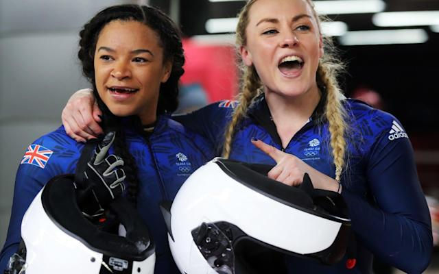 Mica Moore and Mica McNeill become Britain's best ever women's Olympic bobsleigh athletes after crowdfunding campaign