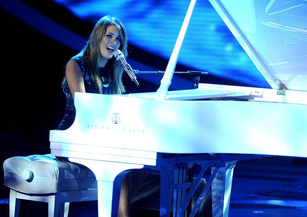 "Angie Miller performs ""Who You Are"" on the Wednesday, April 24 episode of ""American Idol."""