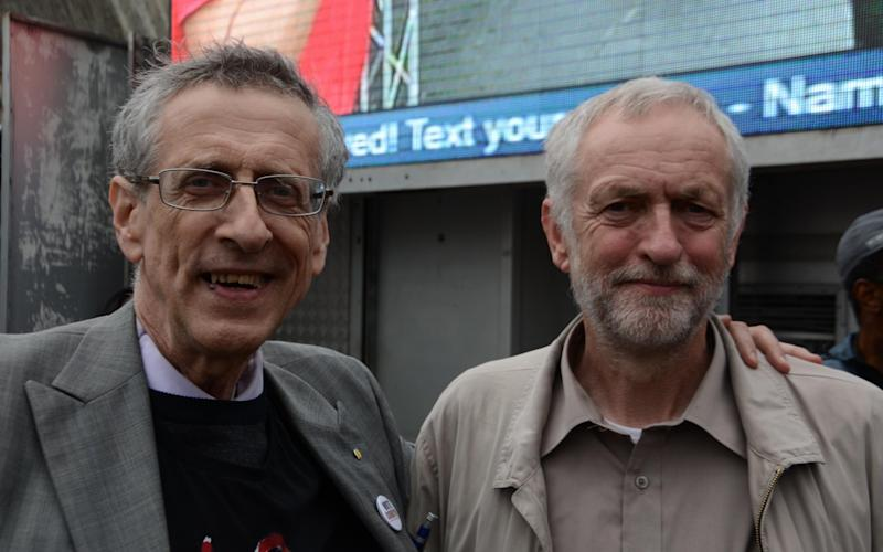 The Corbyn brothers photographed recently - Alamy