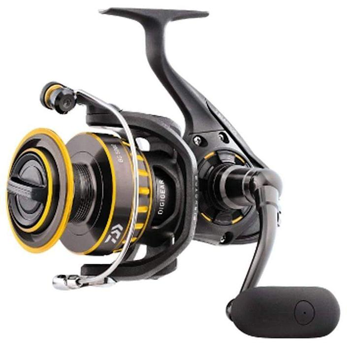 """<p><strong>Daiwa</strong></p><p>amazon.com</p><p><strong>$119.48</strong></p><p><a href=""""https://www.amazon.com/dp/B01JH8FHTE?tag=syn-yahoo-20&ascsubtag=%5Bartid%7C10060.g.37171383%5Bsrc%7Cyahoo-us"""" rel=""""nofollow noopener"""" target=""""_blank"""" data-ylk=""""slk:Shop Now"""" class=""""link rapid-noclick-resp"""">Shop Now</a></p><p><strong>• Gear ratio: </strong>5.6:1<strong><br>• Weight: </strong>10.8 oz.<strong><br>• Size: </strong>10 lb./200 yards</p><p>The roughly $100 sticker price might feel steep to folks used to buying cheaper rod'n'reel combos off the shelf, but this is a quality reel meant to last more than a summer or two of light fishing, and it has features usually reserved for higher-end reels such as a sealed drag system and anodized aluminum meant to resist corrosion.</p>"""
