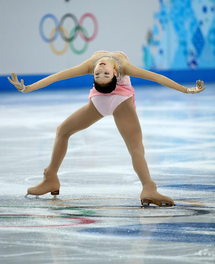 China's Zijun Li of China competes in the Women's Figure Skating Free Program in the Sochi Winter Olympics on Feb. 20, 2014.