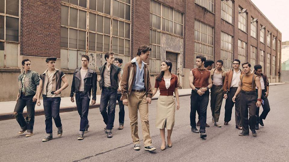<p> <strong>Release date:&#xA0;</strong>December 10, 2021 </p> <p> There aren&#x2019;t many genres Steven Spielberg hasn&#x2019;t tackled over the course of his long and impressive career, but the musical is one of them. He&#x2019;s about to change all that with this new take on West Side Story, but seeing as Robert Wise and Jerome Robbins&#x2019; 1961 Oscar-winner is widely regarded as one of the best song-and-dance flicks of all time, the director certainly isn&#x2019;t taking the easy option. </p> <p> Famously an update of Romeo And Juliet, the story focuses on a doomed romance against the backdrop of gang war between the Jets and the Sharks in 1950s New York.&#xA0;Baby Driver&#xA0;star Ansel Elgort and newcomer Rachel Zegler play lovers Tony and Maria, with Rita Moreno (who won an Oscar playing Anita in the original movie) back to play Valentina, a reimagined and expanded version of the role of Doc. We know the tunes are good &#x2013; the question is, can Spielberg make everything else sing as well? </p>