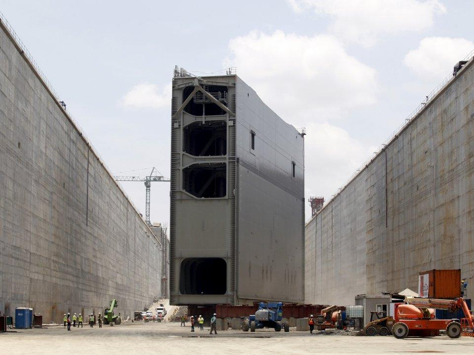 <p>The newly expanded Panama Canal was unveiled to the public in early June, 102 years after it first opened. It took $5.4 billion and 40,000 workers to triple the capacity of the waterway. (Business Insider) </p>