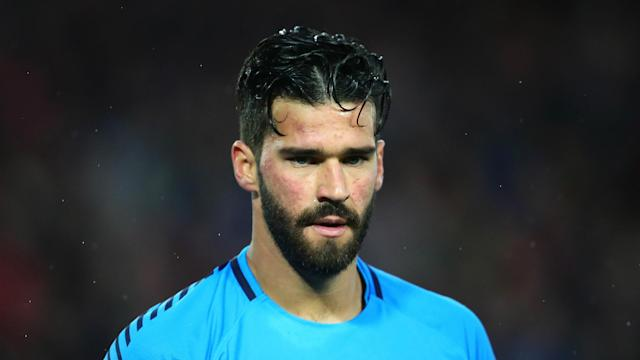 With Alisson's switch to Liverpool nearing completion, Roma's sporting director faced questions over the club's transfer policy.