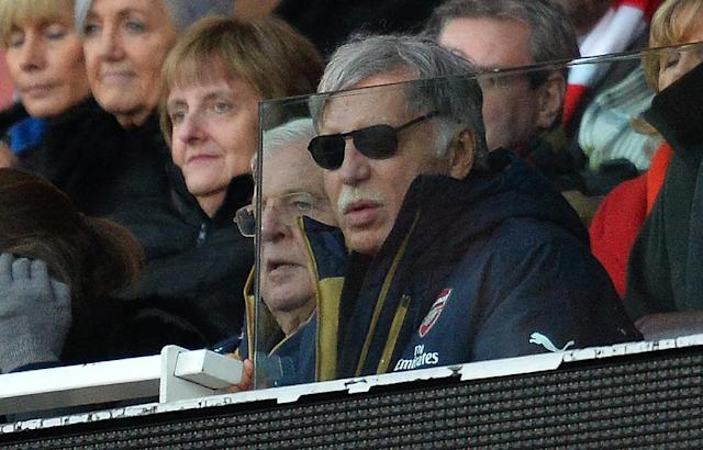 The city and county of St. Louis filed a lawsuit on Wednesday naming Rams owner Stan Kroenke, seen in 2016, the NFL and all its 32 teams as defendants in the case over the team's relocation (AFP Photo/GLYN KIRK )