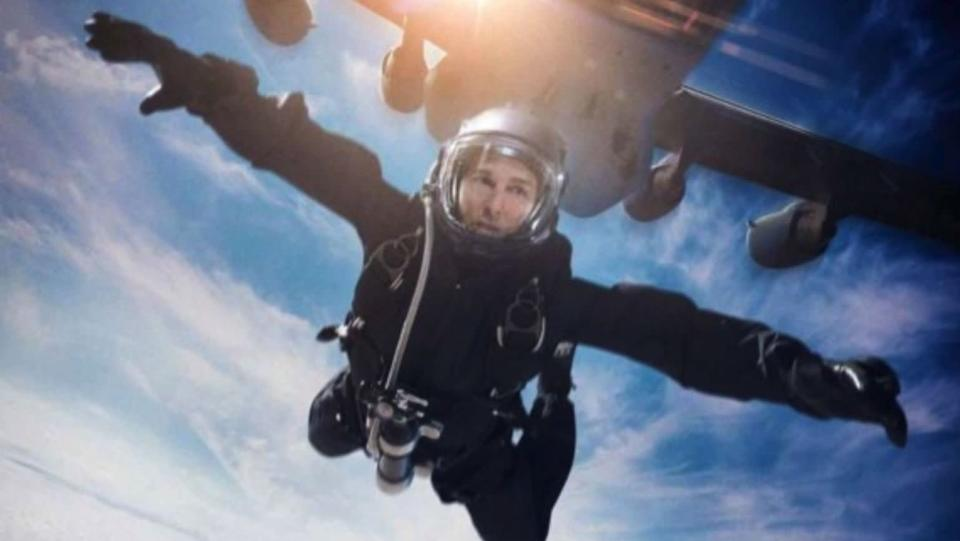 """Tom Cruise in """"Mission: Impossible — Fallout."""" (Paramount)"""