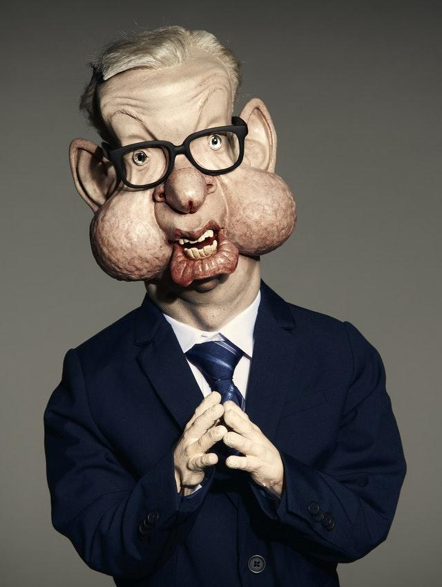 A Michael Gove Spitting Image puppet
