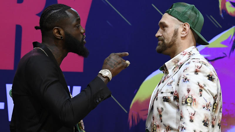 Fury predicts second-round knockout of Wilder